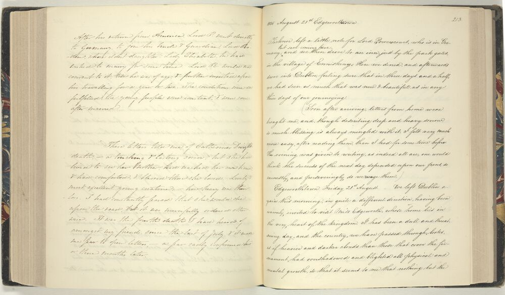 Anna Ticknor's account of visiting Maria Edgeworth