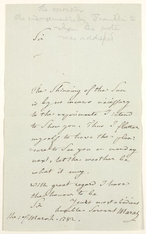 A curious treasure from Ticknor's autograph collection
