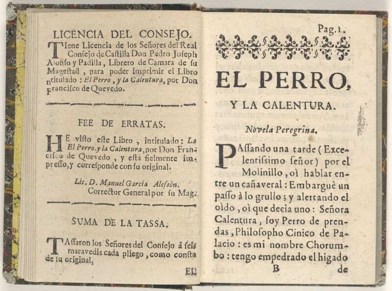 The leading Golden Age Spanish poet, Francisco de Quevedo, features prominently in Ticknor's History of Spanish Literature.