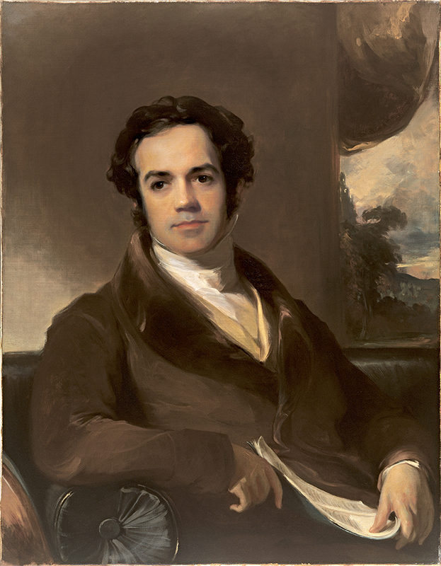 Thomas Sully, George Ticknor (1791 1871), Class of 1807, 1831, oil on canvas. Hood Museum of Art, Dartmouth: Gift of Constance V.R. White, Nathaniel T. Dexter, Philip Dexter, and Mary Ann Streeter; P.943.130.