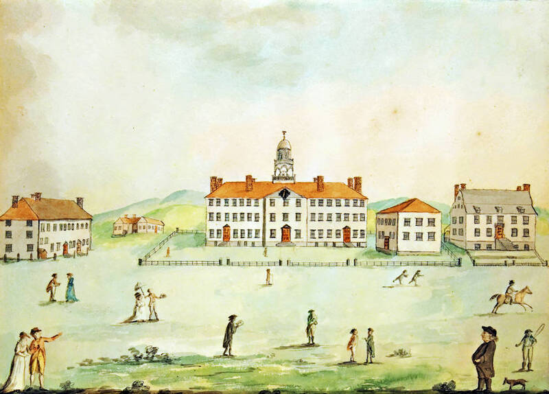 George Ticknor, View of the Principal Buildings of Dartmouth College, 1803