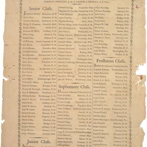 George Ticknor appears in this listing of members of Dartmouth College