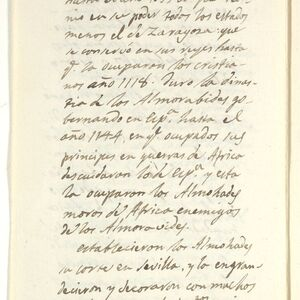 While living in Madrid, Ticknor spent several hours daily under the tutelage of the scholar José Antonio Conde, developing his knowledge of Spanish literature. In this letter of introduction, Conde introduces Ticknor to his associate, John Hookham Frere, an English diplomat and author.